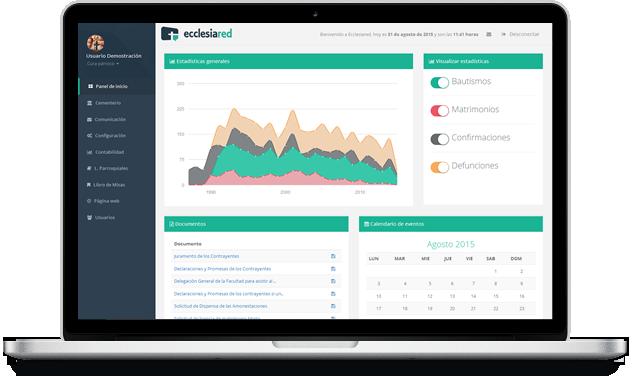 Ecclesiared - Plataforma de gestión parroquial
